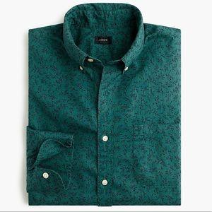 J. Crew Men Secret Wash shirt in vineyard print